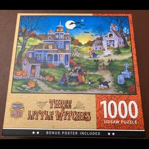 🎃 Three Little Witches Puzzle
